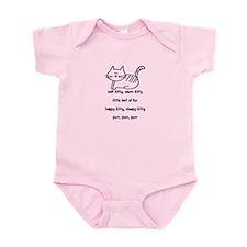 Soft Kitty in Binary Infant Bodysuit