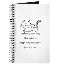 Soft Kitty in Binary Journal