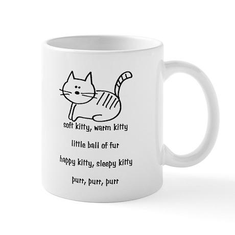Soft Kitty in Binary Mug