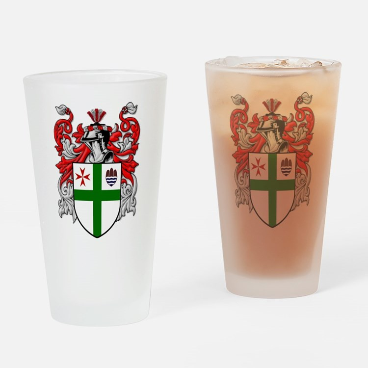 Crest Drinking Glass