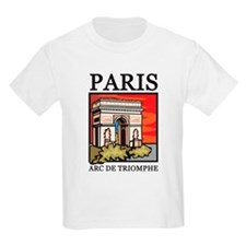 Arc de Triomphe Kids T-Shirt