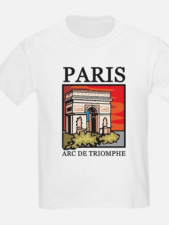Arc de Triomphe Kids T-Shirt