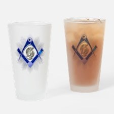 Masonic Blue Lodge Drinking Glass