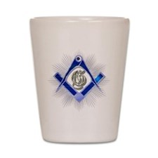 Masonic Blue Lodge Shot Glass