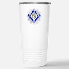 Masonic Blue Lodge Travel Mug