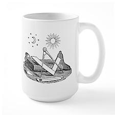 Square & Compass Mug