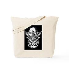 Freemason Skull Tote Bag