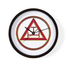 Freemason Chapter Wall Clock