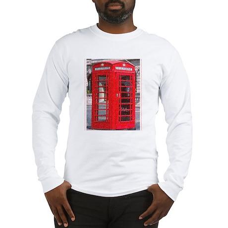 British Phone Booth Long Sleeve T-Shirt