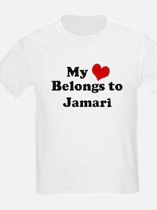 My Heart: Jamari Kids T-Shirt