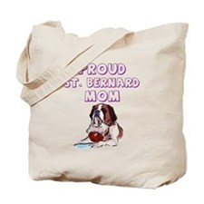 Proud St. Bernard mom Tote Bag