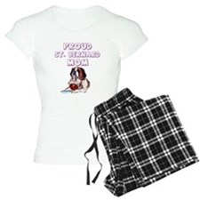 Proud St. Bernard mom Pajamas