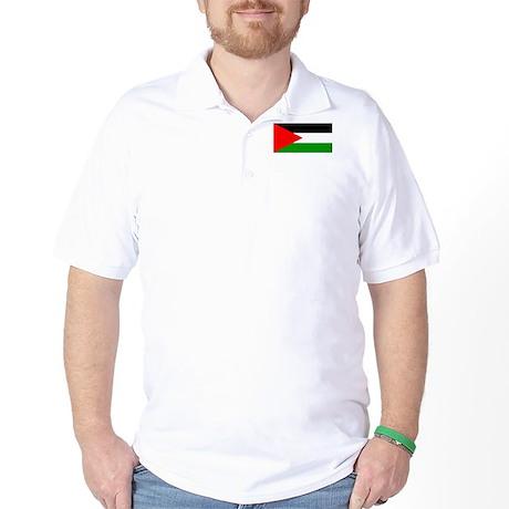Flag of Palestine Golf Shirt