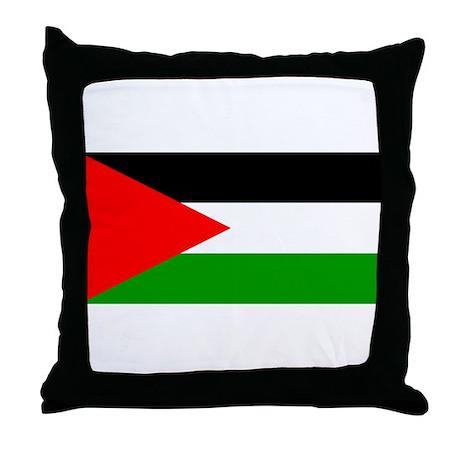 Flag of Palestine Throw Pillow