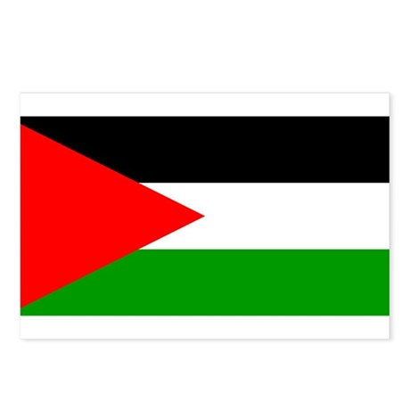 Flag of Palestine Postcards (Package of 8)