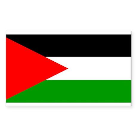 Flag of Palestine Sticker (Rectangle)
