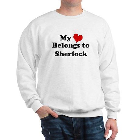 My Heart: Sherlock Sweatshirt
