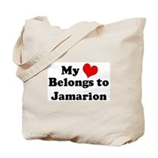 My Heart: Jamarion Tote Bag