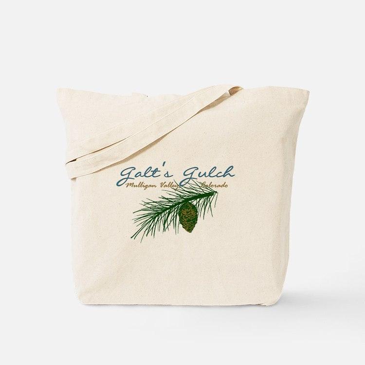 Galt's Gulch Elegant Tote Bag