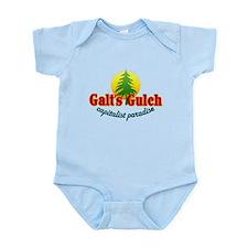 Galt's Gulch Capitalist Parad Infant Bodysuit