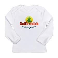 Galt's Gulch Capitalist Parad Long Sleeve Infant T