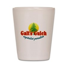 Galt's Gulch Capitalist Parad Shot Glass