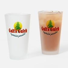 Galt's Gulch Capitalist Parad Drinking Glass