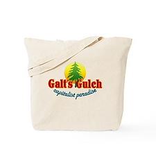 Galt's Gulch Capitalist Parad Tote Bag