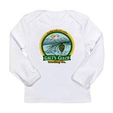 Galt's Gulch Green/Gold Long Sleeve Infant T-Shirt