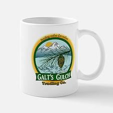Galt's Gulch Green/Gold Mug