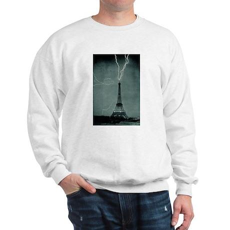 Eiffel Tower Lightening Strik Sweatshirt