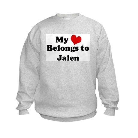 My Heart: Jalen Kids Sweatshirt