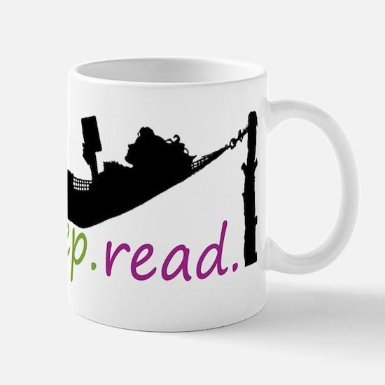 Unique Eat sleep read Mug