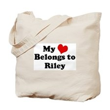 My Heart: Riley Tote Bag