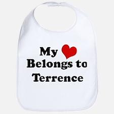 My Heart: Terrence Bib