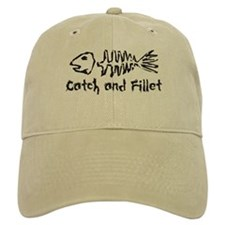 Catch and Fillet Baseball Cap