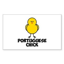 Portuguese Chick Decal