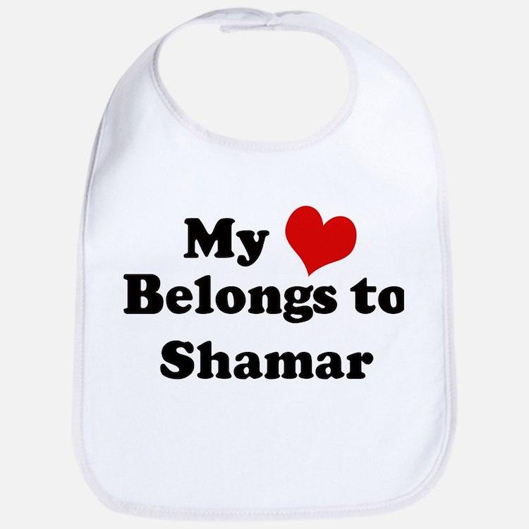 My Heart: Shamar Bib