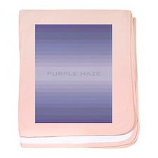 Purple Haze baby blanket