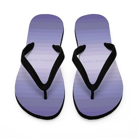 Purple Haze Flip Flops