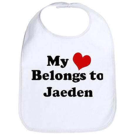 My Heart: Jaeden Bib