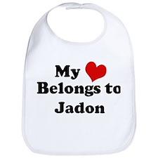 My Heart: Jadon Bib