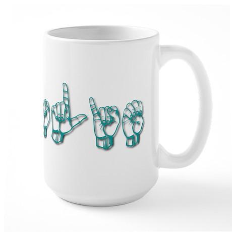 Leslie Large Mug