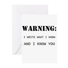 Write What You Know Greeting Cards (Pk of 10)
