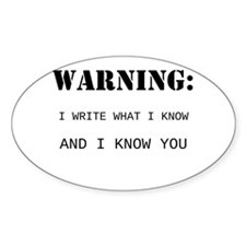 Write What You Know Decal