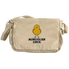 Mongolian Chick Messenger Bag