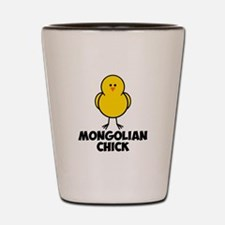 Mongolian Chick Shot Glass