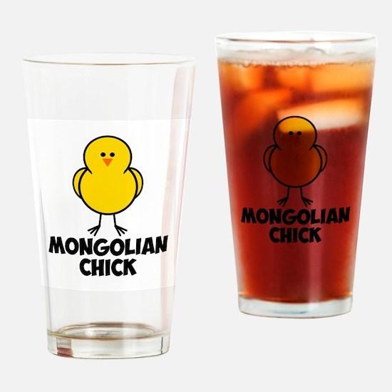Mongolian Chick Drinking Glass