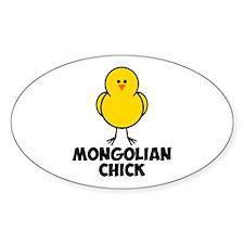 Mongolian Chick Decal