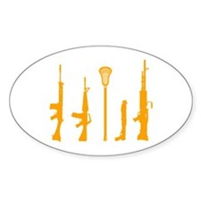 Lacrosse Weapons Decal
